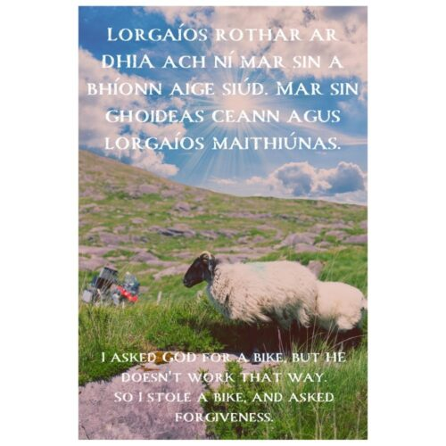 I Asked Forgiveness Mystic Ireland Poster #3