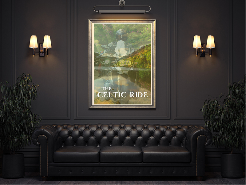 The Celtic Ride Mystic Ireland Original Poster
