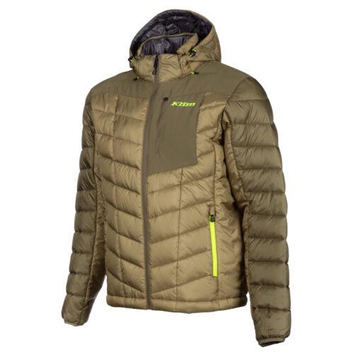 Klim Torque Jacket Sage Hi Vis Back